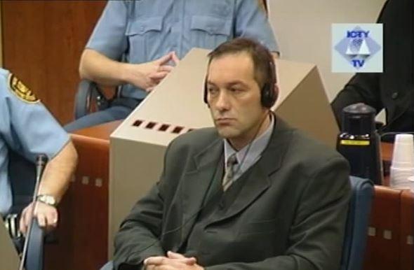 Duško Sikirica Tribunolo buvusiai Jugoslavijai posėdyje