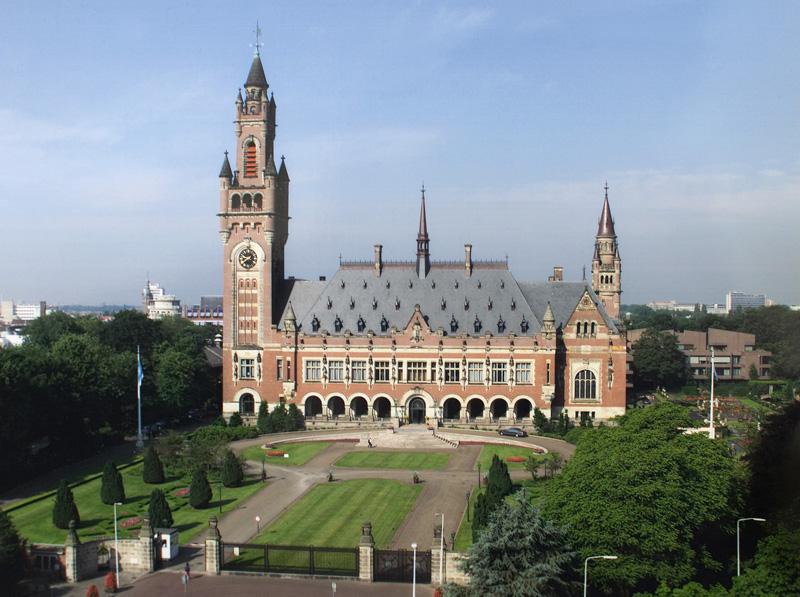 Taikos rūmai Hagoje, Tarptautinio Teisingumo Teismo būstinė