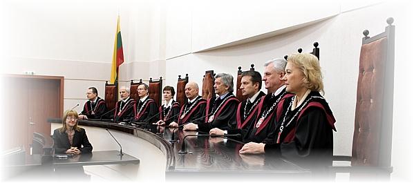 Konstitucinis Teismas 2014 m. šaltinis: www.lrkt.lt