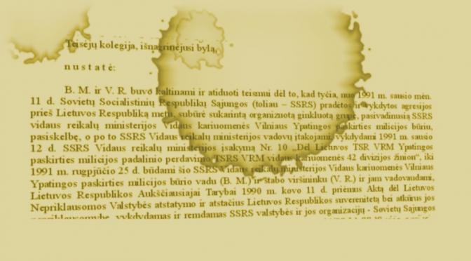 Pastabos nuosprendžio OMONui paraštėse II: karo nusikaltimai