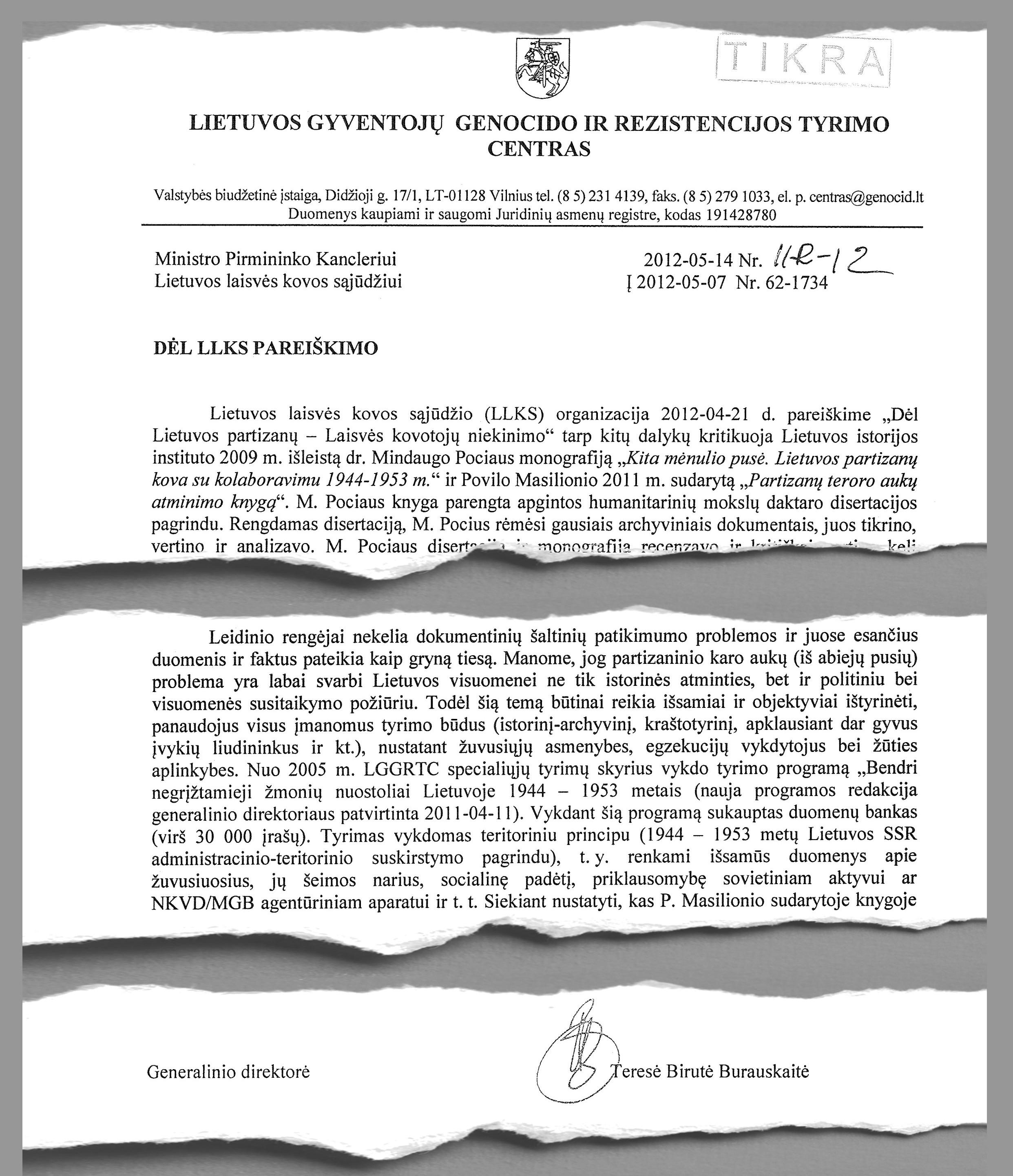 LGGRCT 2012-05-14 rašto fragmentai